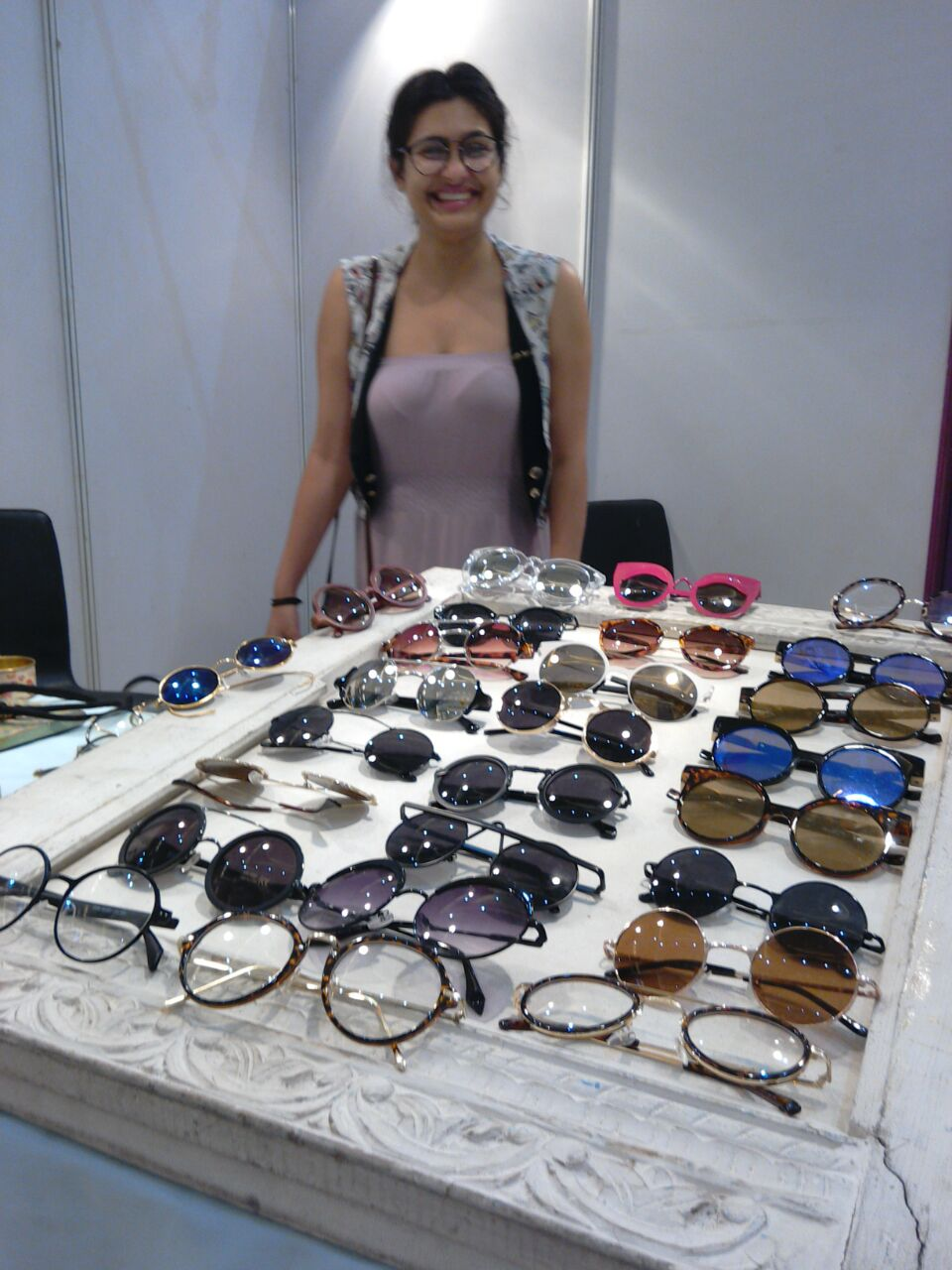 Sugandha Mahajan and her round-rimmed eyewear designs