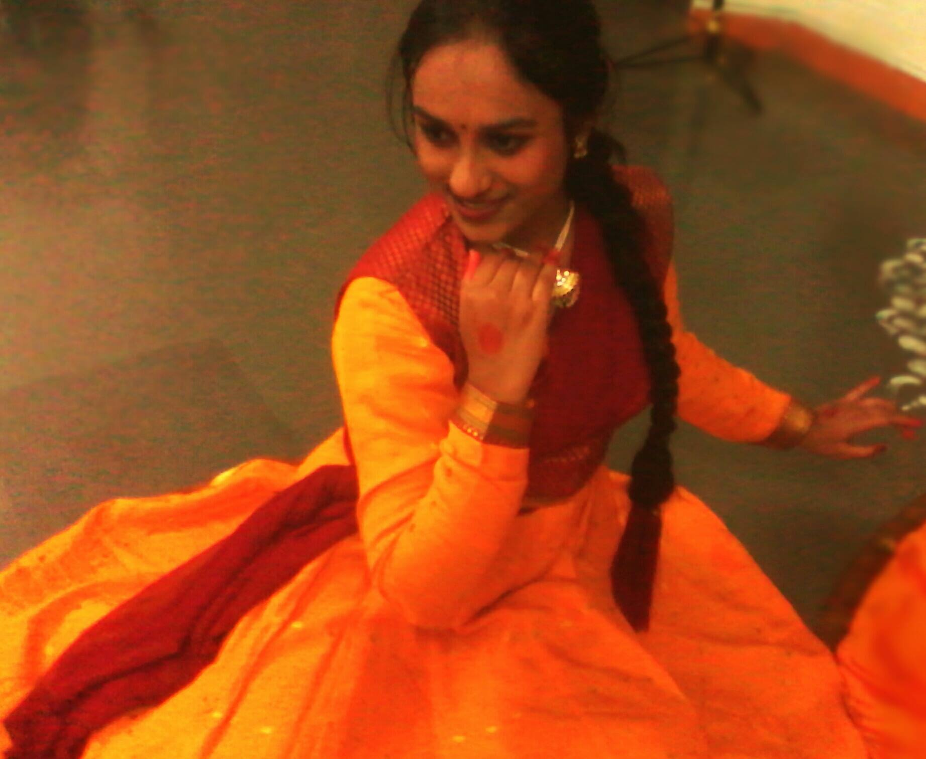Shravani perfoming Kathak